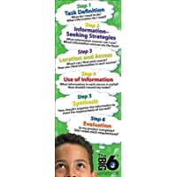 Big6 Jumbo Bookmarks (Green) - Package of 200