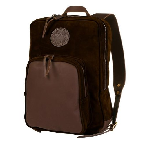 Serengeti Leather Deluxe Daypack Backpack - Guaranteed For Life & Made In Usa front-707703