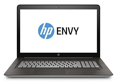 HP ENVY (17-r110ng) 43,9 cm (17,3 Zoll / FHD IPH) Notebook (Intel Core i7-6700HQ, 16 GB RAM, 256 GB SSD, 1 TB HDD, Windows 10) silber
