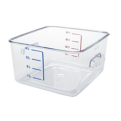 rubbermaid-commercial-fg630400clr-polycarbonate-1-gallon-space-saving-storage-container-clear