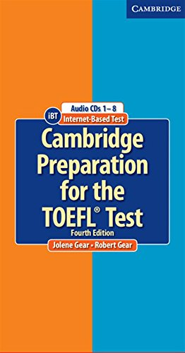 Cambridge Preparation for the TOEFL Test Audio CDs (8)