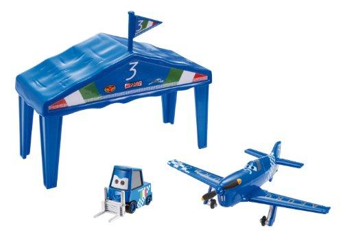 Planes - Box-hangar de carreras (Mattel Y8995)