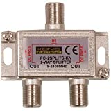 2 Way Cable TV Splitter