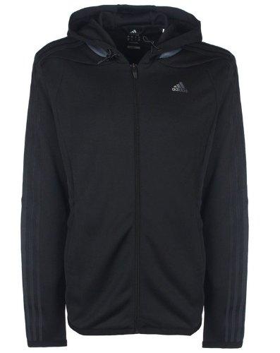 Adidas ClimaLite Mens 365 Full Zip Running Hoody
