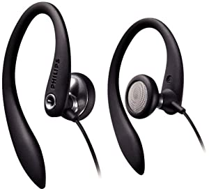 Philips Flexible Earhook Headphones SHS3200/28 (Black) (Replaces SHS3200/37)