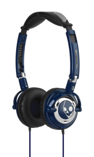 Skullcandy Lowrider Headphones - Navy/Chrome
