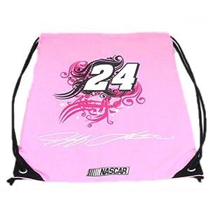 #24 Jeff Gordon Pink Cinch Backpack By Olivet International 2645B24 by Brickels