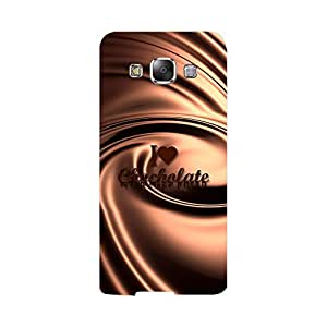 Skintice Designer Back Cover with direct 3D sublimation printing for Samsung Galaxy E5