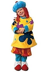 JoJo the Clown Circus Costume - Size XS (Toddler Size 4T)