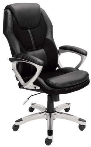 serta-43673-faux-leather-mesh-executive-chair-black