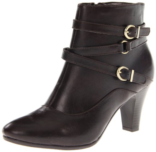 LifeStride Women's Yoyo Ankle Boot,Dark Brown Mokka,9 M US