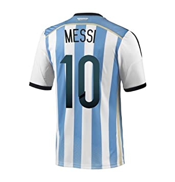Buy Adidas MESSI #10 Argentina Home Jersey World Cup 2014 by adidas