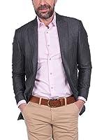 SIR RAYMOND TAILOR Blazer Jacket Tees (NEGRO)