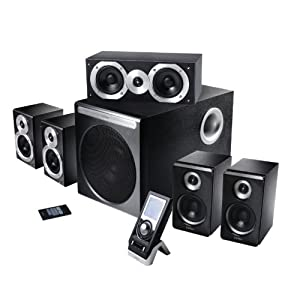 edifier s550 5 1 soundsystem rev 2 inkl fernbedienung schwarz. Black Bedroom Furniture Sets. Home Design Ideas