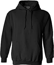 Joe\'s USA(tm) Hoodies Soft & Cozy Hooded Sweatshirt,4X-Large-Black
