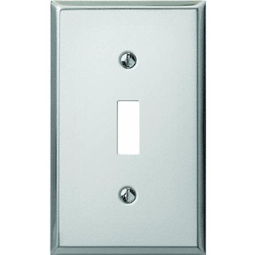 Pro-Polished Chrome Steel Switch Wall Plate-CHR SWITCH WALL PLATE