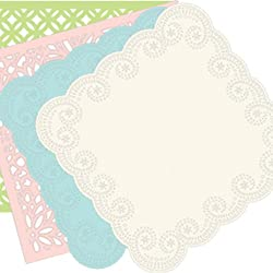 Martha Stewart Crafts Die-Cut Pack Glitter, 6 Sheets, 12 by 12 Inches