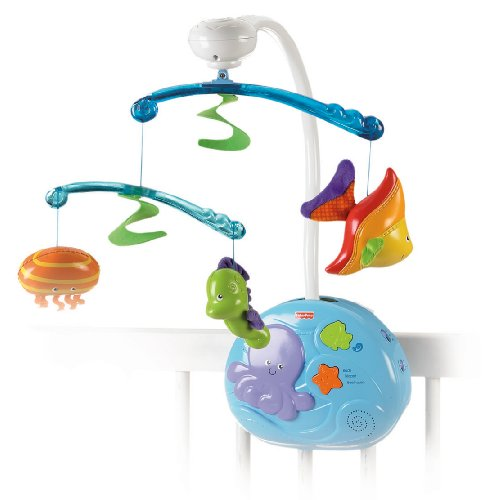 Fisher-Price Ocean Wonders Gentle Waves Musical Mobile (Discontinued by Manufacturer)