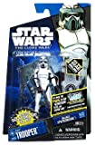 Star Wars Clone Wars Action Figure: CW56 ARF Trooper & Speederboard