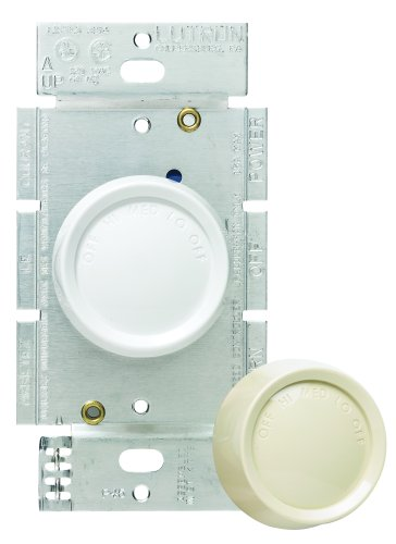 Lutron FSQ-2FH-DK Electronics Rotary On/Off Fan-Speed Fully Variable Control