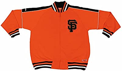 MLB San Francisco Giants Contrast Shoulder Track Jacket