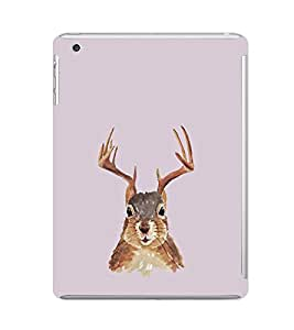 EPICCASE Squireel with horns Mobile Back Case Cover For Apple Ipad Mini 2 (Designer Case)
