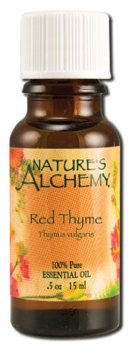 Nature's Alchemy 100% Pure Essential Oil Red Thyme, 0.5 Fluid Ounce