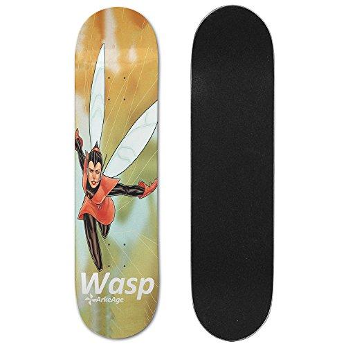 arkeage-wasp-comic-poster-maple-skateboard-deck-75-x-31