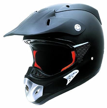 Redbike rB - 2500 casque de cross noir avec la norme eCE 22-05