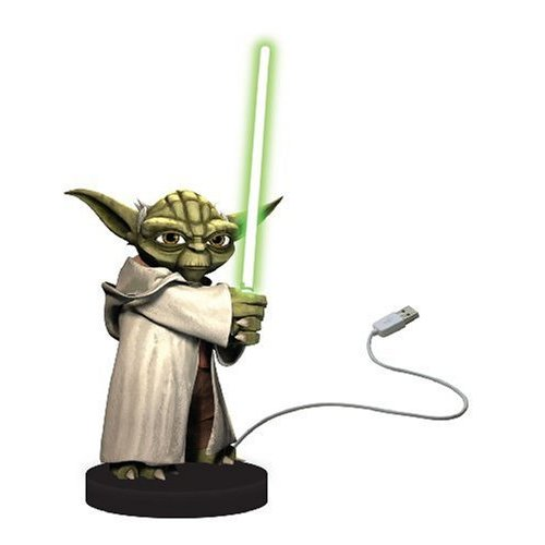Star Wars Yoda USB Desk Protector Figure