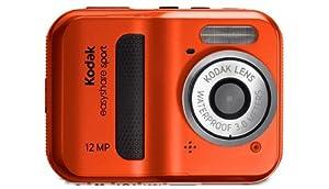Kodak EasyShare Sport C123 Digitalkamera (12 Megapixel, 5-fach digitaler Zoom, 6,1 cm (2,4 Zoll) Display, wasserdicht) rot