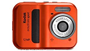 Kodak C123 - Cámara Digital Compacta, 12 MP (2.4 pulgadas, 5x Zoom digital) - Rojo