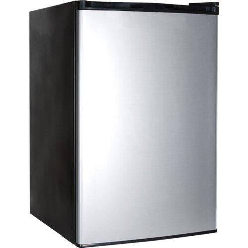 Haier 4.5 cuft Refrig-Freezer Virt Steel - HNSE045VS