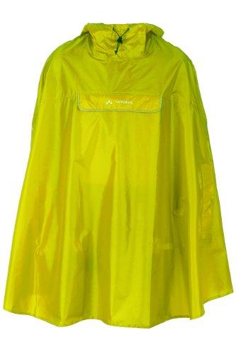 Vaude Valdipino Poncho lemon Rain coat mens