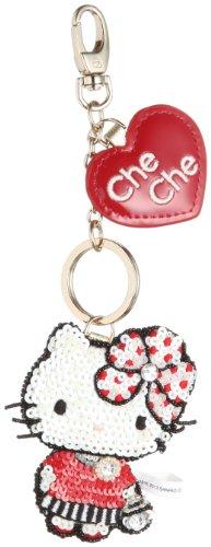 [Citynew York] CheChe NewYork fashion Kitty Keychain CCN-3058201 37 (red)