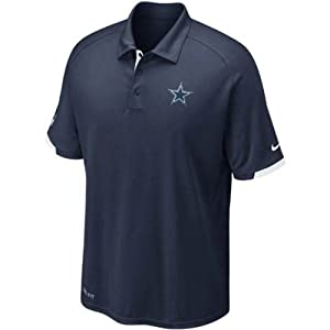 Dallas Cowboys Dri-Fit Practice Polo Shirt - SMALL by Nike