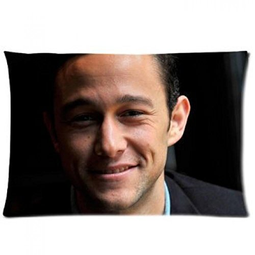 Anime pillow case caver Custom American Atractive Actor Joseph Gordon-Levitt Pillow Case Home Decoration Cushion Cover 20x30 Two Sides
