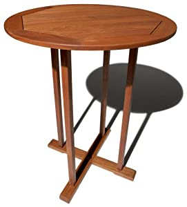 Strathwood Bradford All-weather Hardwood Round Bar Table by Strathwood