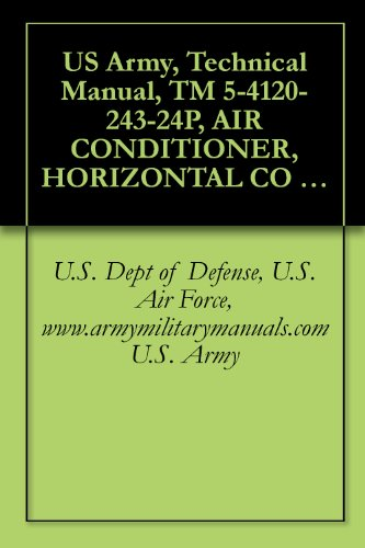 US Army, Technical Manual, TM 5-4120-243-24P, AIR CONDITIONER, HORIZONTAL CO 18,000 BTU TRANE MODEL 208V, 3-PHASE, 400 HERTZ, MODEL MAC4H18-108-1201-03, ... 208V, 3-PHASE, 400 HERTZ, MODEL K1F-18H-4
