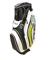 New Ping Pioneer Black/White/Leaderboard Lime Green Cart Bag