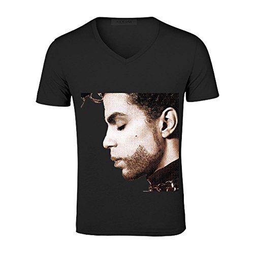 the-hitsthe-b-sides-prince-rock-mens-v-neck-short-sleeve-shirts-black