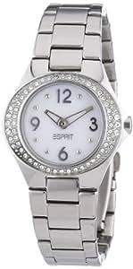 Esprit Damen-Armbanduhr Saturn Silver Analog Quarz Edelstahl ES103982001