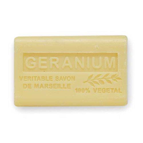 (南仏産マルセイユソープ)SAVON de Marseille ゼラニウムの香り(SP004)(125g)