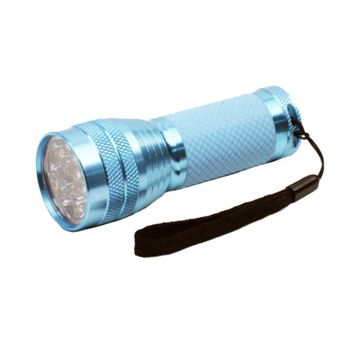 Dorcy 41-6251 Glow-in-the-Dark 16-LED Pocket Flashlight, Assorted Colors