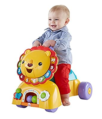 Fisher-Price 3-in-1 Sit, Stride & Ride Lion by Fisher Price