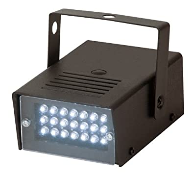 American Dj S81 Led Mini Strobe Variable Speed Led Powered by American DJ Group of Companies