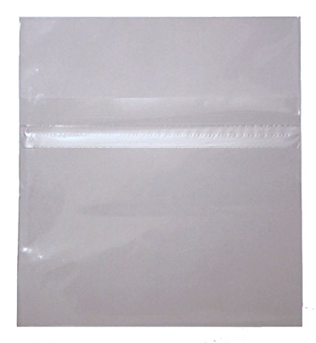 Resealable Plastic Wrap CD Sleeves 500