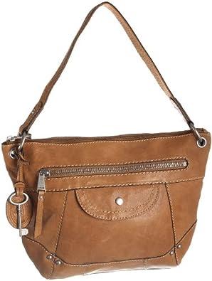 ee006e363f123 Fossil LIBERTY Braun Damen Handtasche Tasche Henkeltasche Leder Glattleder  Schuhe   Handtaschen on PopScreen