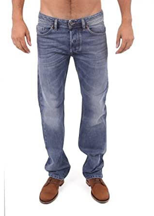Diesel - Bleu Larkee Straight Jeans - Homme - Taille: W34-L32