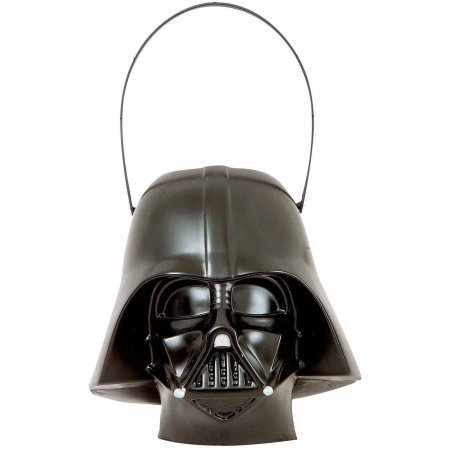 Darth Vader Pail Halloween Costume Accessory (Darth Vader Costume For Sale)